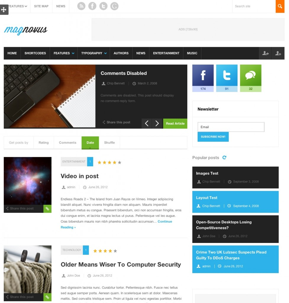 magnovus theme wordpress